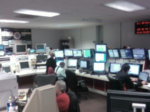 The control room at the D0 site
