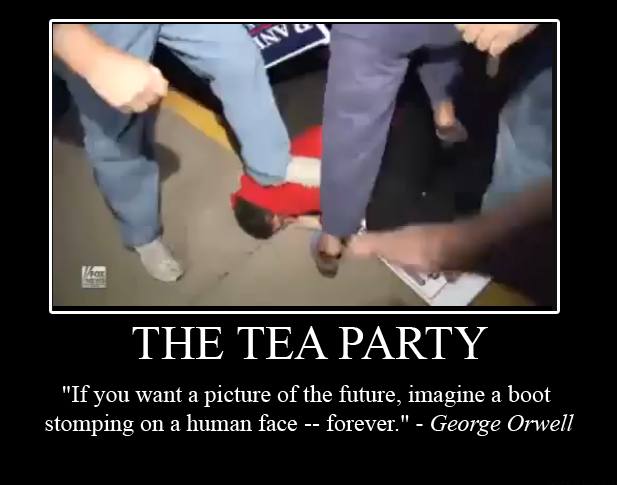 The Tea Party's vision of the future in the USA