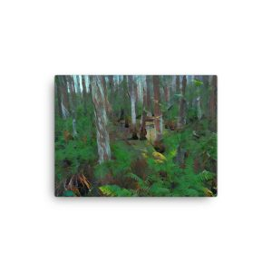 Swamp Plants 12×16 Canvas Print