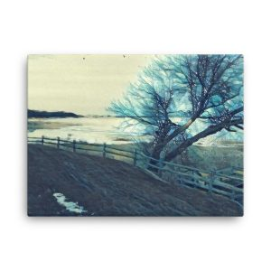 Thundersnow 18×24 Canvas Print